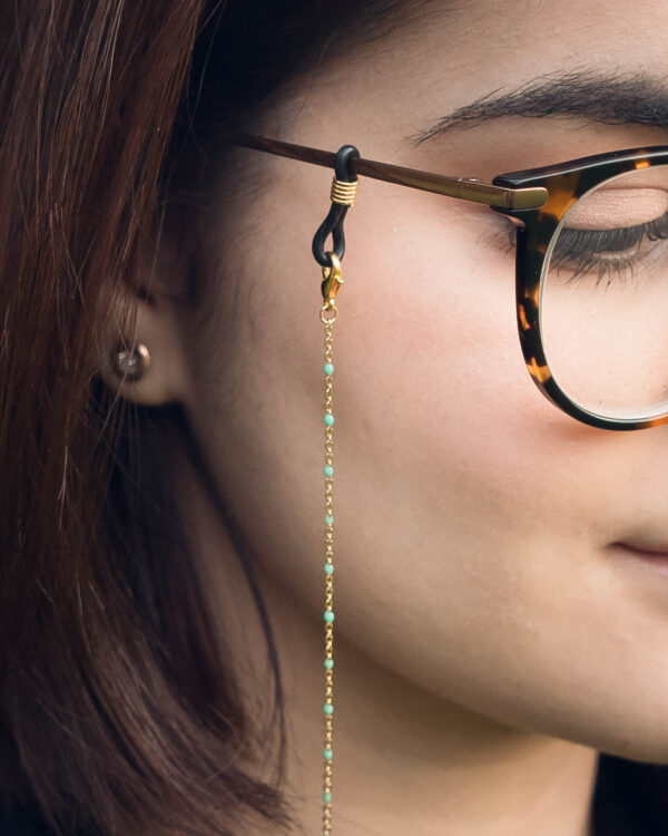 Chaine de lunettes Reykjavik - cordon de lunettes - chainette de lunettes - bijou de lunettes