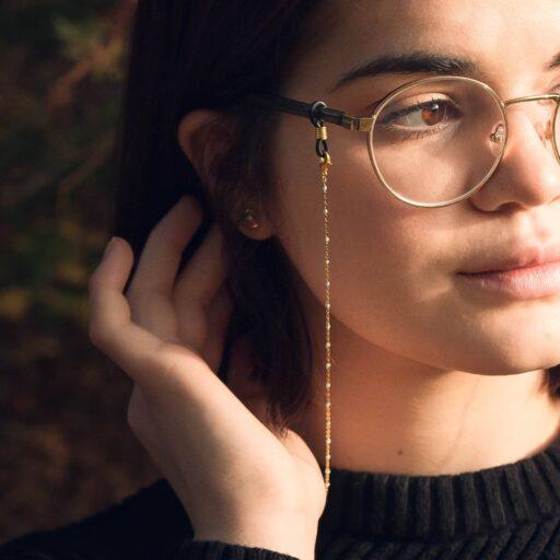 cordon de lunettes tendance