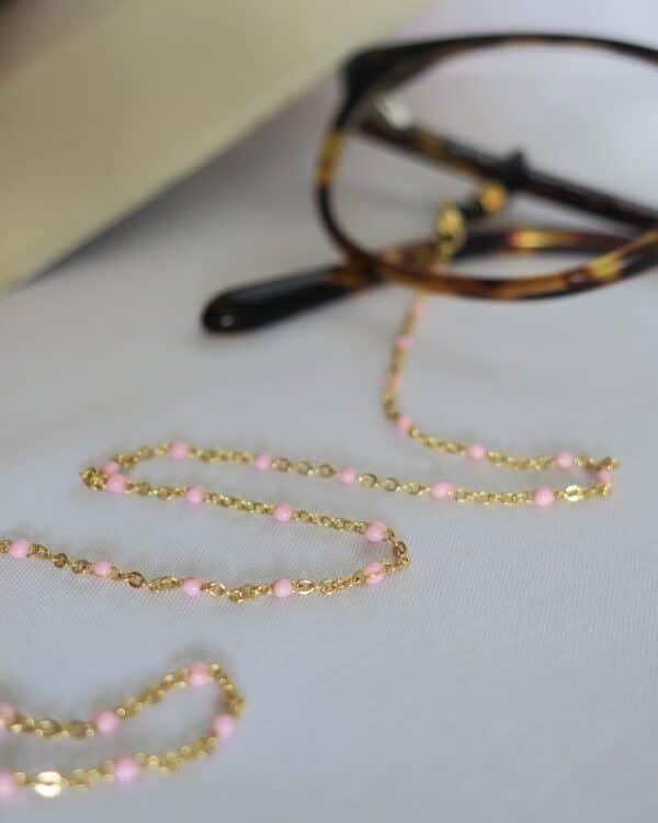 chaine-de-lunettes-doree-perles-roses-modele-toulouse