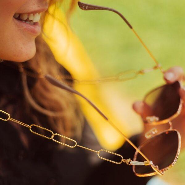 Chaine pour lunettes de soleil ou lunettes de vue